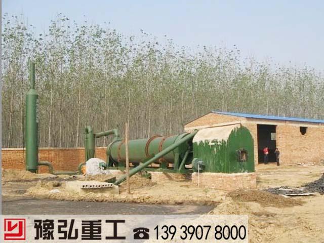 动物粪便干燥设备使用现场