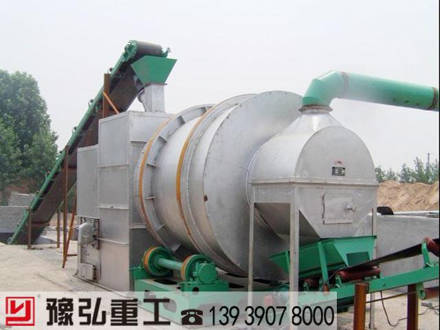 江砂三回程烘干机使用现场