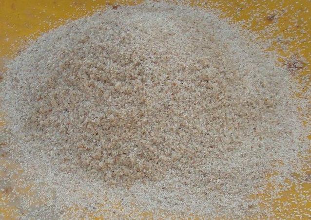 用户物料水洗石英砂