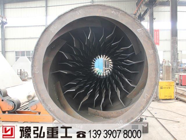 硅酸铝干燥设备主机内部构造