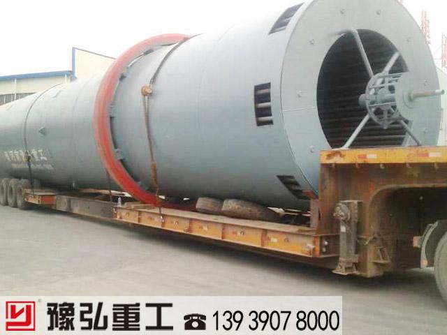 为用户定制的蒸汽式烘干设备发货现场