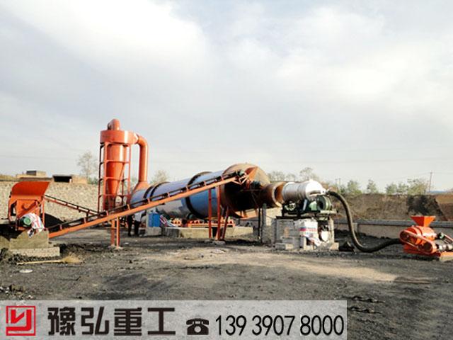 印染污泥烘干设备使用现场