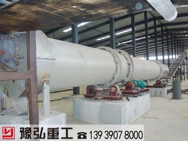钛酸盐干燥设备使用现场