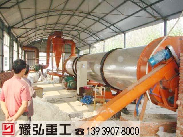 红薯渣烘干脱水设备使用现场
